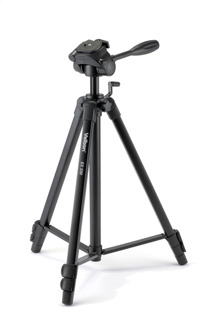 VELBON EX-530 4 SECOND , FULL SIZE TRIPOD, FLIP LEG LOCKS, RA