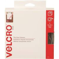 FASTENER VELCRO TAPE 15FT CLR
