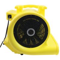 Maxxair HVCF 4000 High Velocity Carpet Fan, 4000 cfm, 1 hp, Yellow