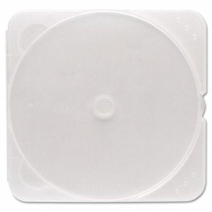 TRIMpak CD/DVD Case, Clear, 200/Pack