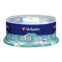 DVD-RW, 4.7GB, 4X, 30/PK Spindle