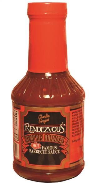 Rendezvous 5 BBQ Hot Sauce, 18 oz