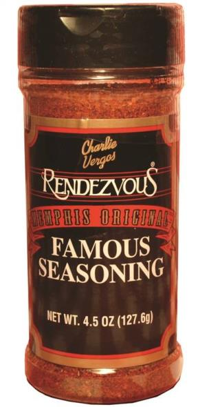 Rendezvous 1 BBQ Seasoning/Rub, 4.5 oz