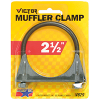CLAMP MUFFLER AUTO 2-1/2IN