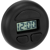 Victor 22-1-37003-8 Compact Lightweight Digital Spot Clock, (1) LR-41 Button Cell Battery, Round