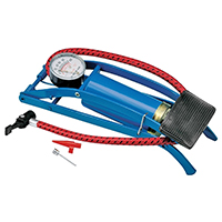 Victor 08901-8 Heavy Duty Foot Pump With Gauge, 100 psi