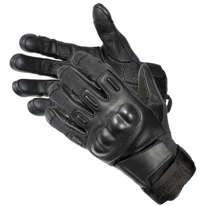 BLACKHAWK MEN'S SOLAG HD GLOVE WITH KEVLAR BLACK MEDIUM