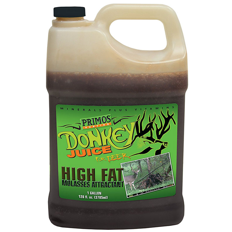 Primos Donkey Juice Molasses Attractant for Deer. 1 gallon