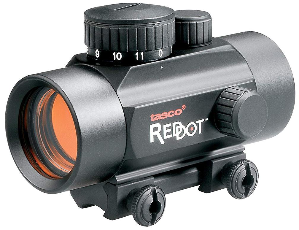 TASCO 1X30MM BLACK MATTE RED DOT RIFLESCOPE