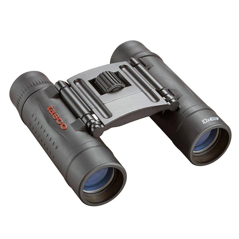 Tasco Essentials (Roof) Binoculars - 10x 25mm Compact - Black