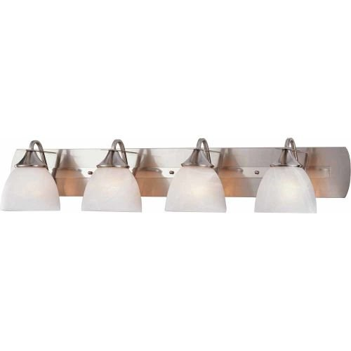 Durango 4-Light Bath Vanity Fixture, Brushed Nickel