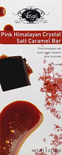 72% Cocoa Burnt Caramel Bar - Pink Salt ( 12 - 3 OZ )