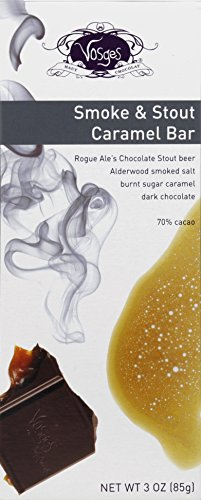 72% Cocoa Burnt Caramel Bar - Smoke & Stout ( 12 - 3 OZ )
