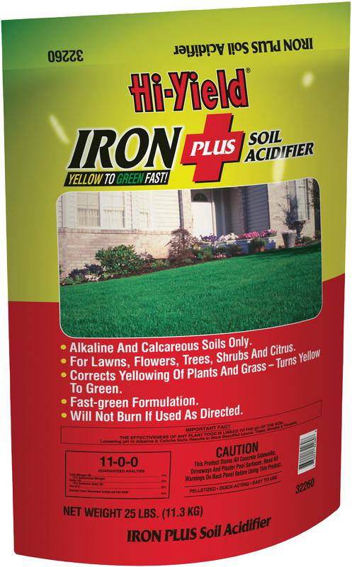 FH32260 25LB IRON + FERTILIZER