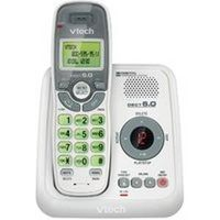 Vtech Communications CS6124 Cordless Telephones, Caller ID-Call Waiting, Gray