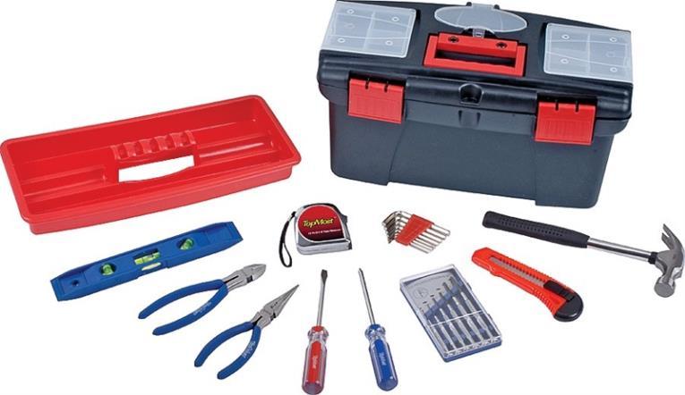Tool Set 22 Piece With Tool Box
