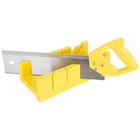 BOX MITRE W/SAW PLASTIC 12IN
