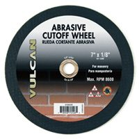 WHEEL CUTOFF ABRASIVE 7X1/8IN