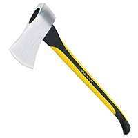 MintCraft 33710 Michigan Axe With Handle, 3.5 lb, 33 in OAL, Fiberglass Handle