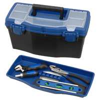 TOOL BOX PLASTIC 16IN