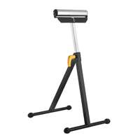 Vulcan YH-RS004 Work Support Roller Stand, 198 lb, Black, Shiny