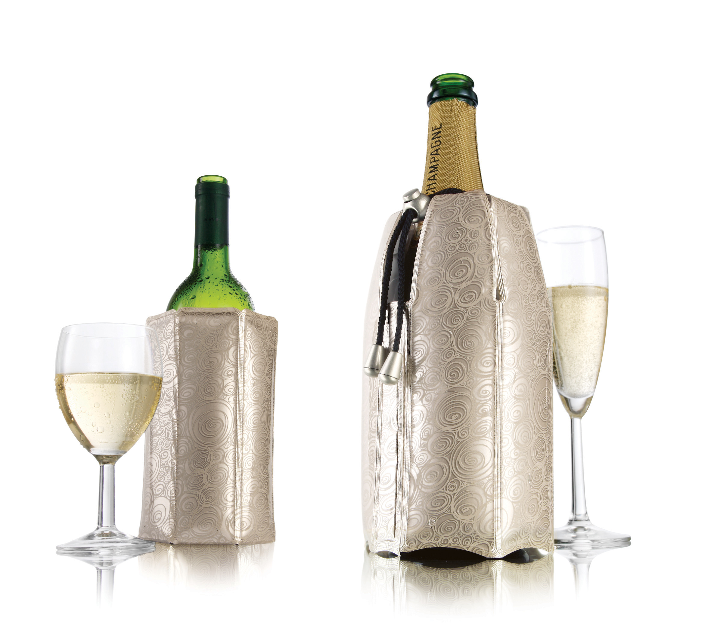 Active Cooler Wine and Champagne Set-Platinum