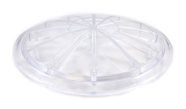"""Wet Industries 6"""" Clear Lid - 6 1/2"""" Dia"""