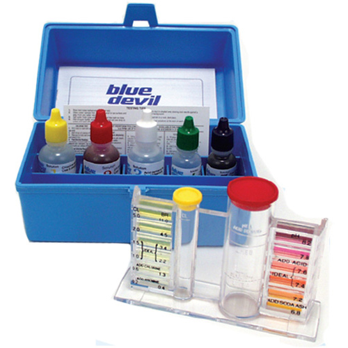 Test Kit, Valterra, Liquid, 5-Way OTO, Bromine, Chlorine, Ph, ALK, Acid Demand