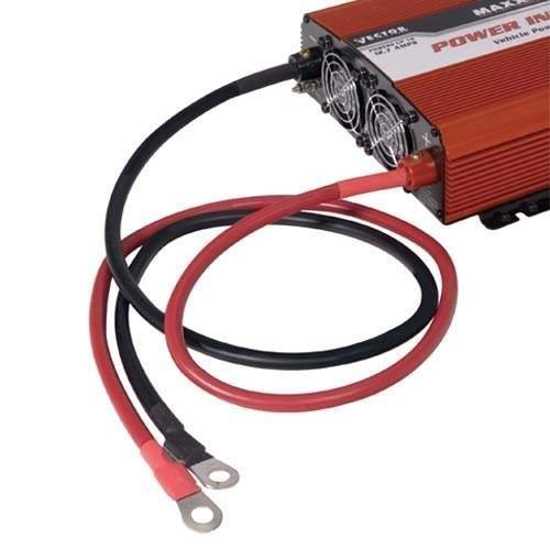 1,200-1,500 Watt Inverter Cable Kit 3' Length/#4 AWG Cable
