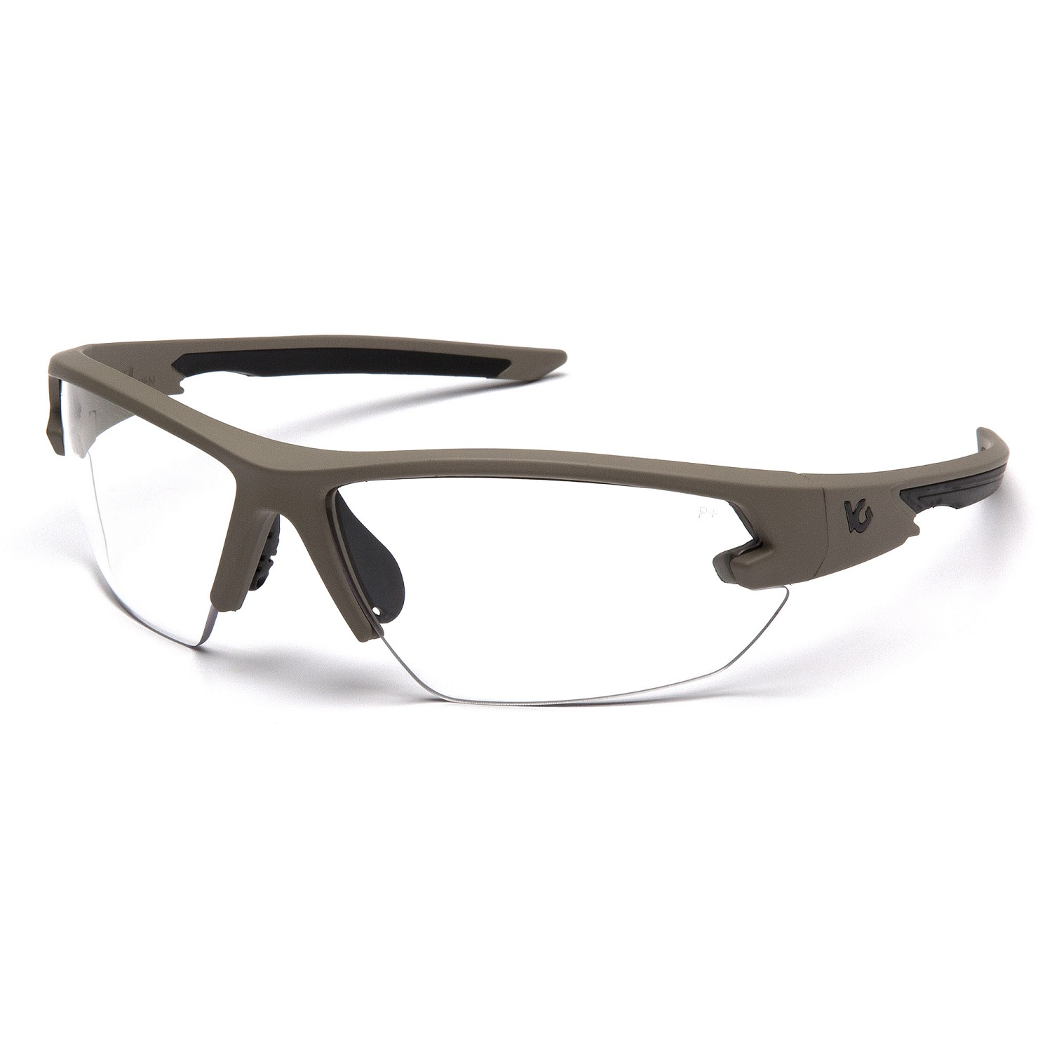Venture Gear Semtex 2.0 Tan Frame Clear Anti Fog Lens
