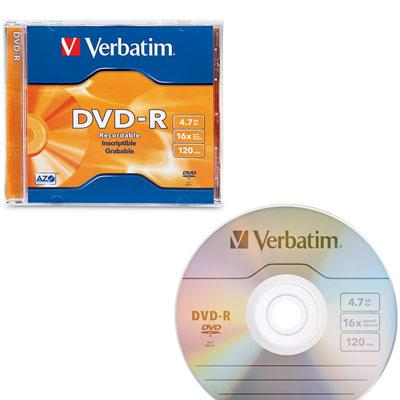 DVD R 16X Branded Suface 1PK