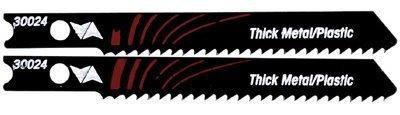 30024 U Shank 2-3/4-Inch 12TPI High Speed Steel Metal Cutting Jigsaw Blade