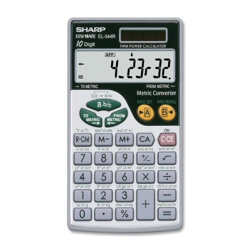 Sharp Metric Conversion Calculator