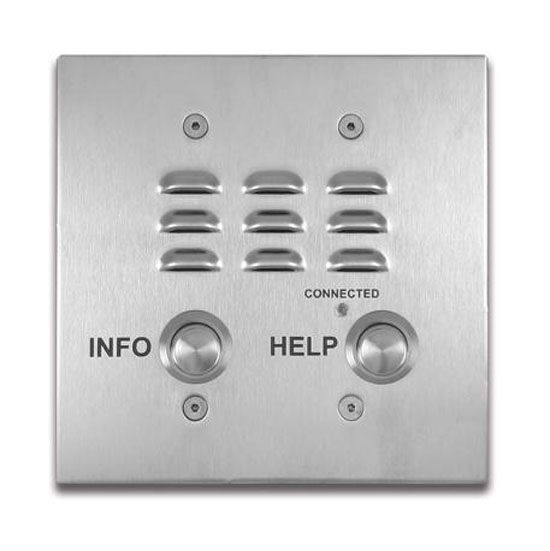 2 Button Double VoIP Emergency Phone