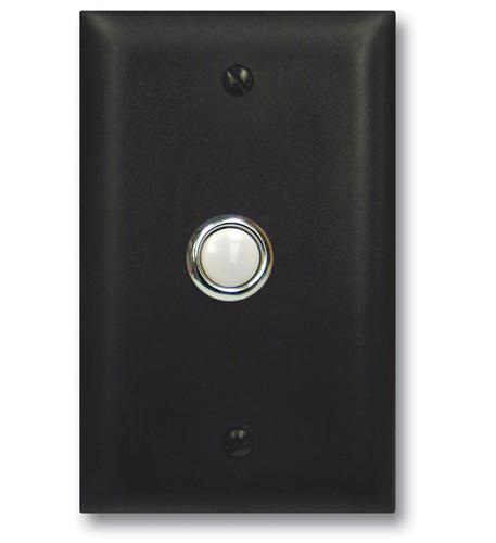 Door Bell Button Panel in Bronze