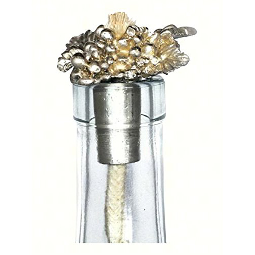 Grapevine Pewter Flat Winelight