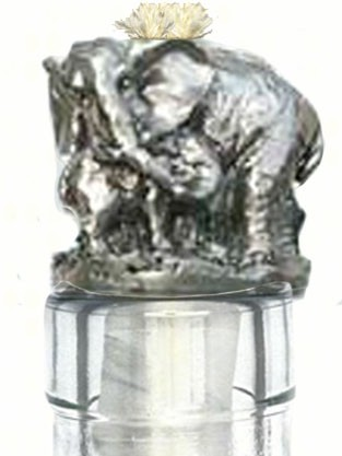 Elephant Pewter Winelight
