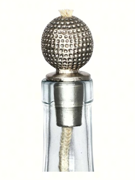 Golf Ball Pewter Winelight