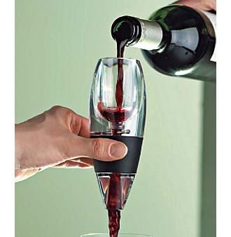 Vivid Wine Decanter & Vinturi Red Wine Aerator Gift Set