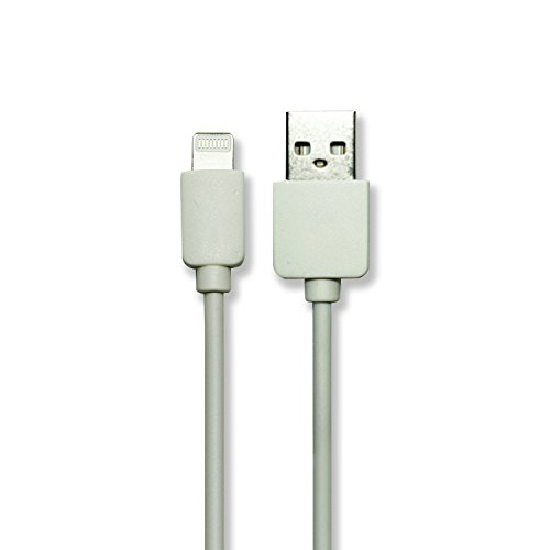 Lightning to USB Cbl 6.5'  Wht