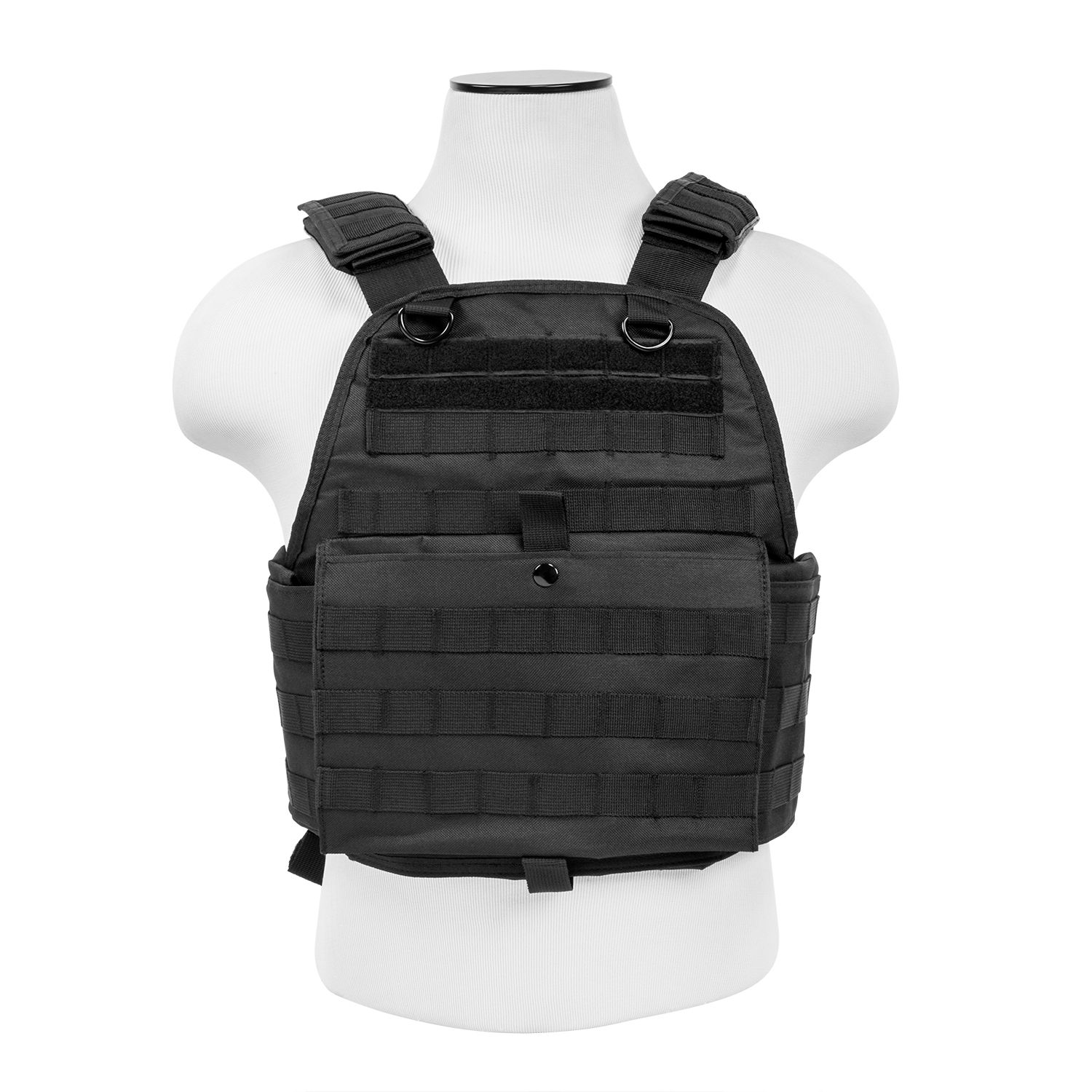 Vism Plate Carrier-Med-2XL-Black