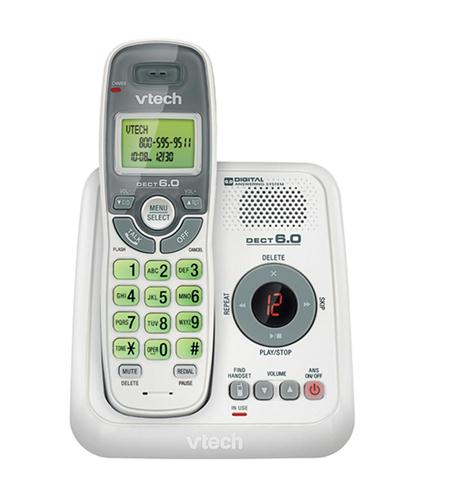 Cordless answering system w/ CID