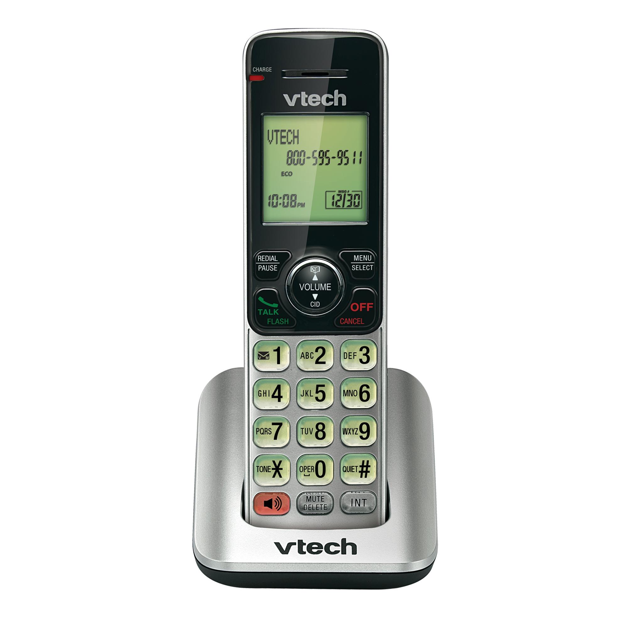 Vtech DECT 6.0 Accessory Handset with Caller ID/Call Waiting - for vtech CS66xx series phones