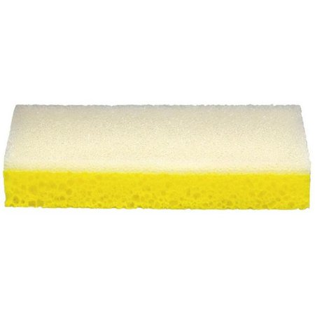 Wallboard 38-030 Sanding Sponge, 9 in L X 4-1/2 in W, 1 in T, Yellow/White, Feather