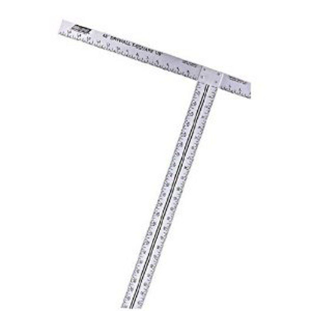 Wallboard 88-012 Drywall T-Square, 18 X 47-7/8 in, Aluminum, Anodized