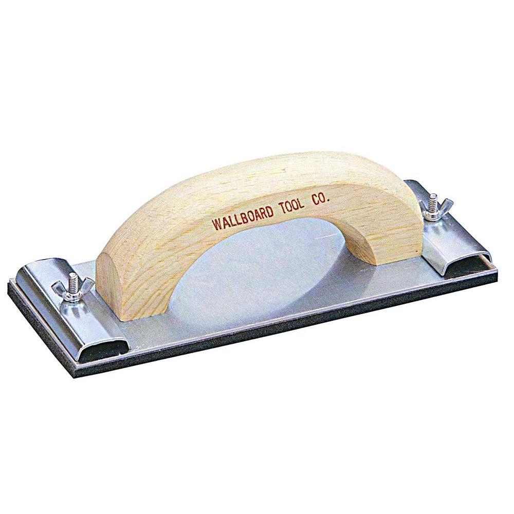 Wallboard 34-002 Professional Grade Hand Sander, Aluminum Base Plate