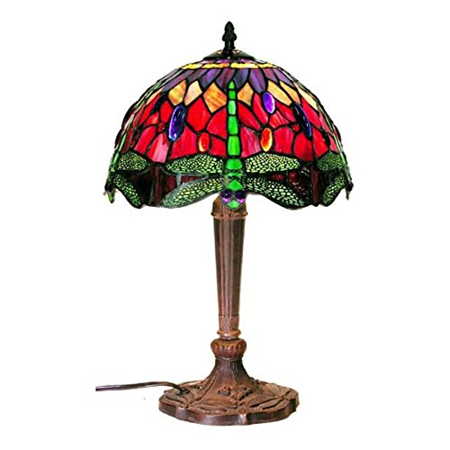 Famous Brand-Style Dragonfly Table Lamp
