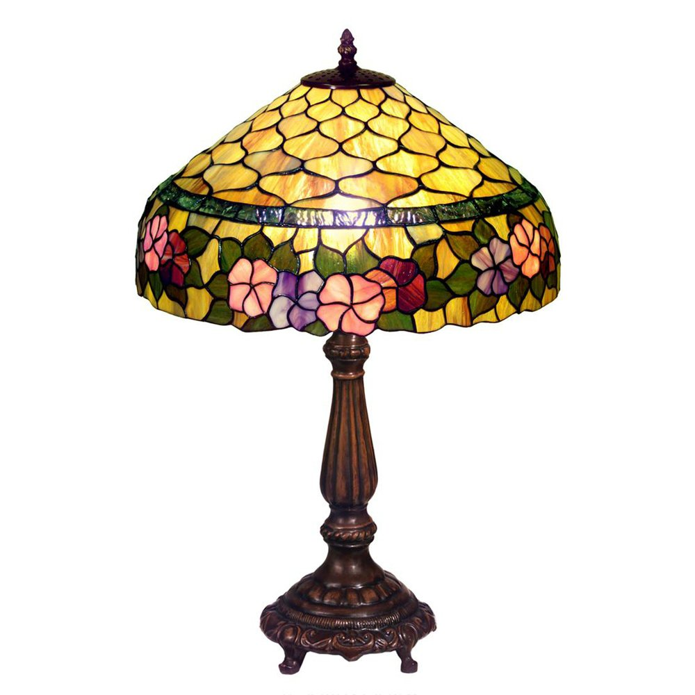 Famous Brand-Style Peony Table Lamp