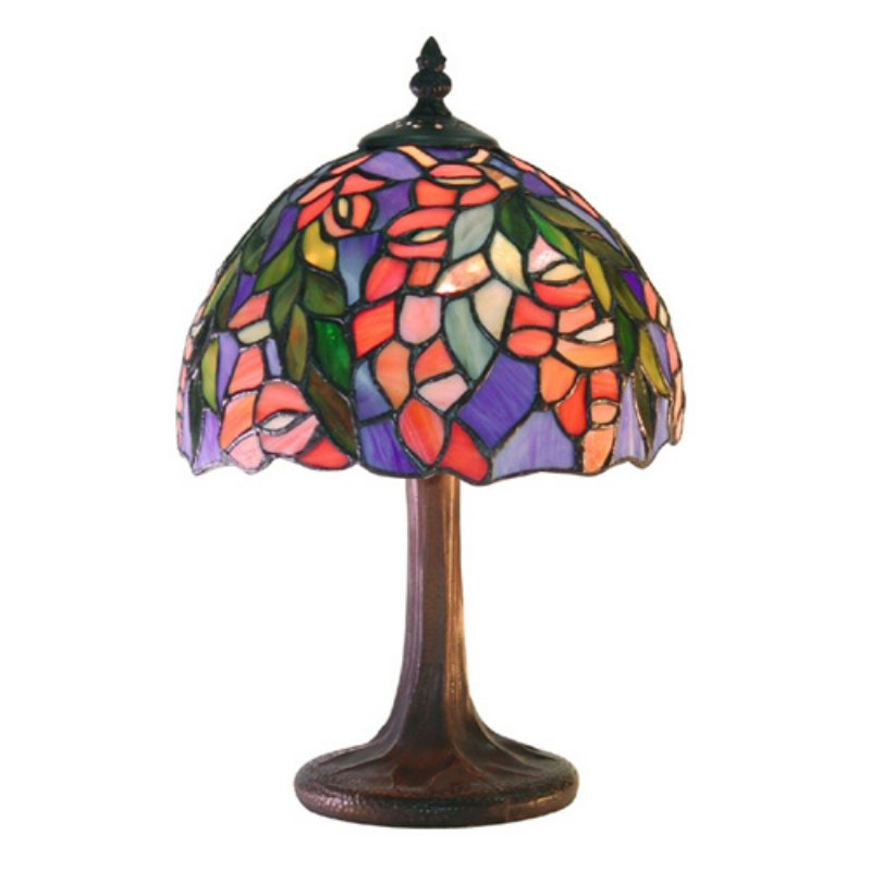 Famous Brand-Style Floral Table Lamp