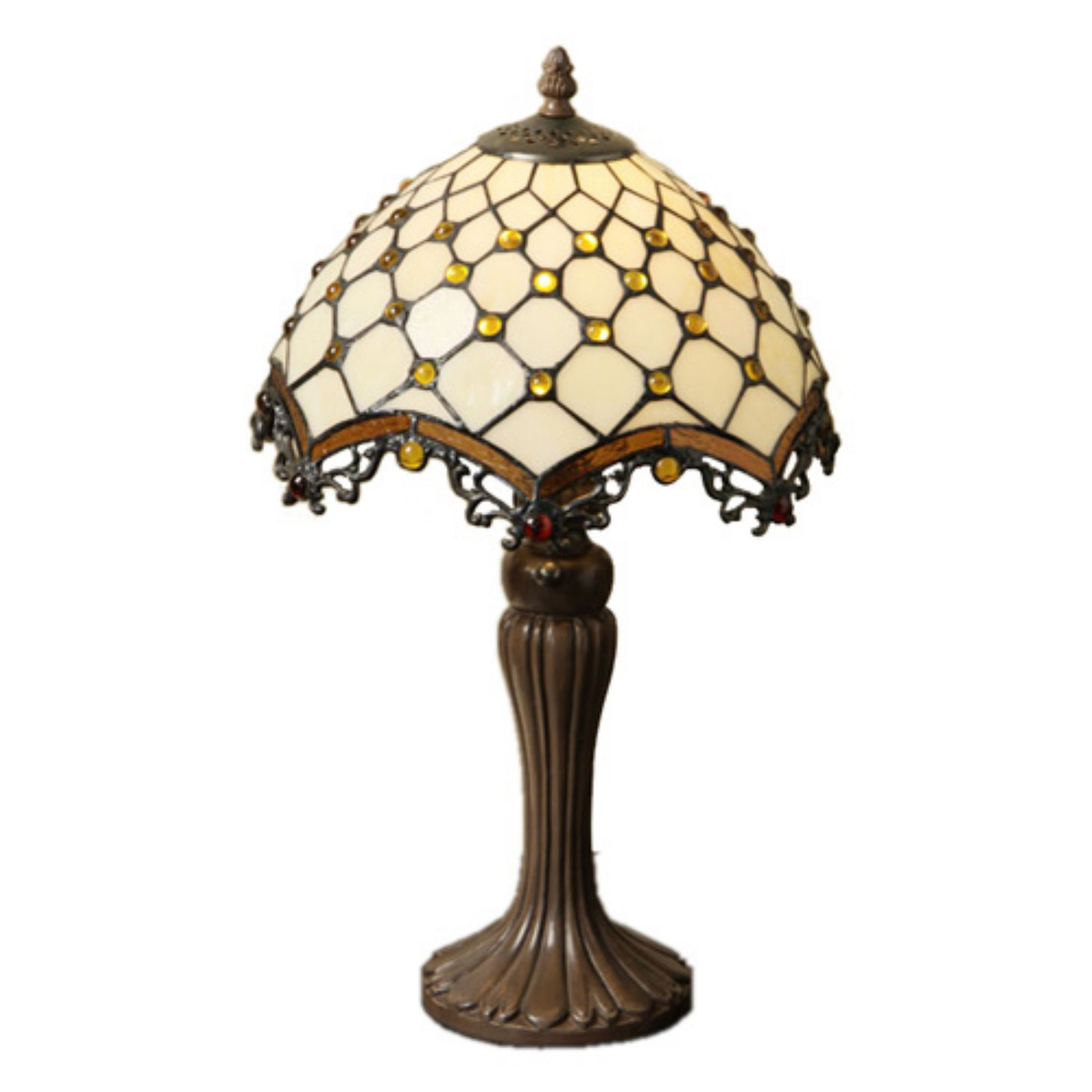 Famous Brand-Style Jewel Roman Table Lamp